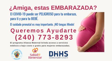 Aplica a los servicios prenatales; las consultas de control prenatal son muy importantes para ti y tu bebé.