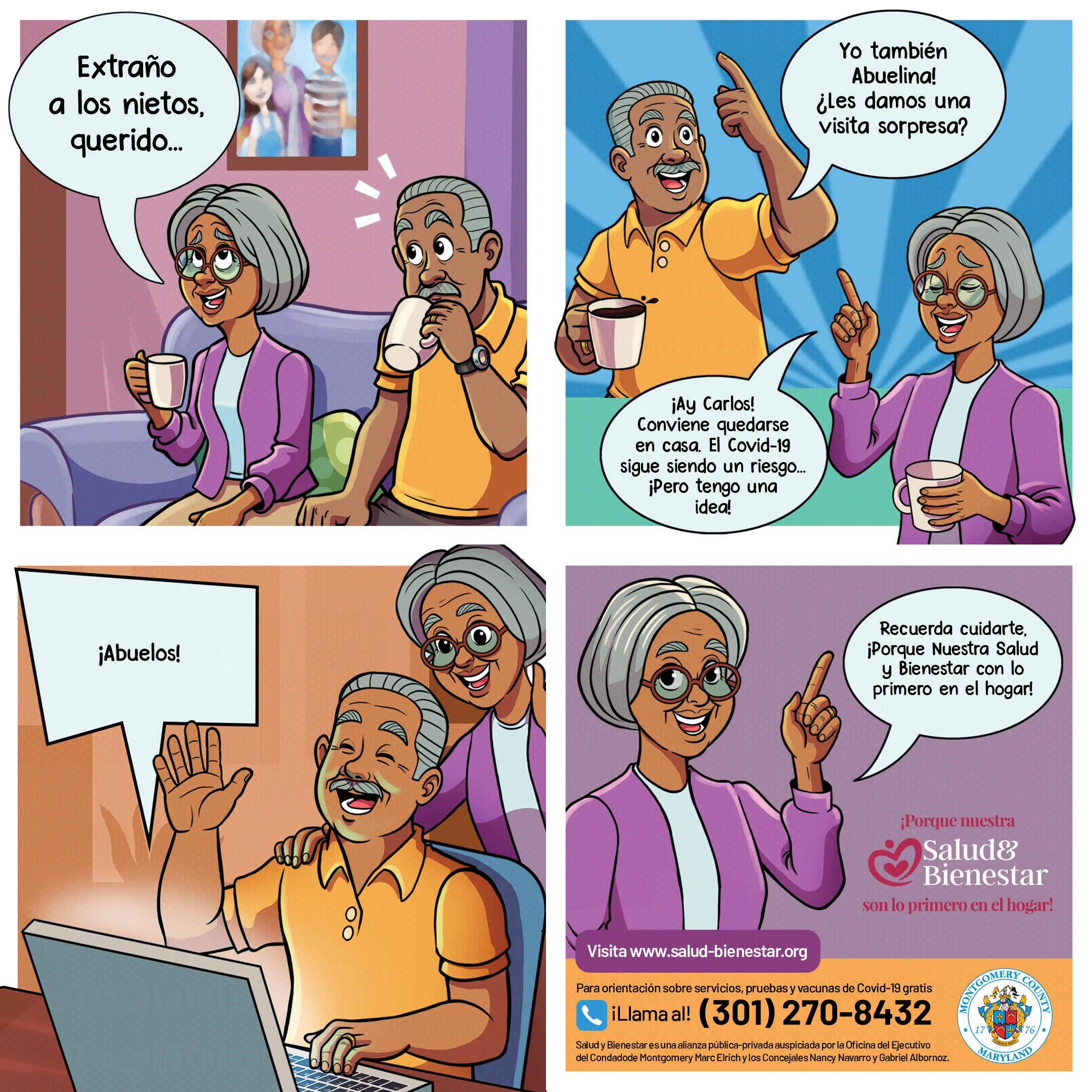 Salud y Bienestar - The Latino Health Initiative (LHI)